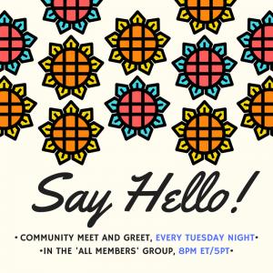 @ashleyrichmond Hi @ashleyrichmond Welcome to our community. I'm Stephanie Siegel, the founder