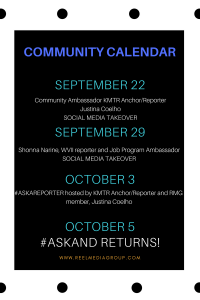 Community Calendar is up! Check it out and join us. We will send DM notifications so you can get in.