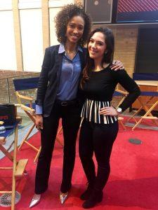 Met the talented Sage Steele at ESPN New York last week. Steele gave an inspiring internal lectur